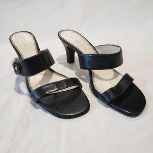 Anne klein barlett Sandals Black Sz 9M